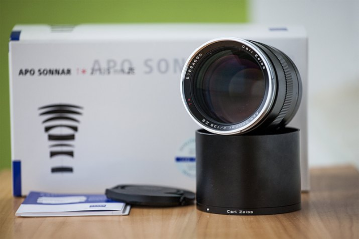 Carl Zeiss Apo-Sonnar 135mm f/2 ZE Canon