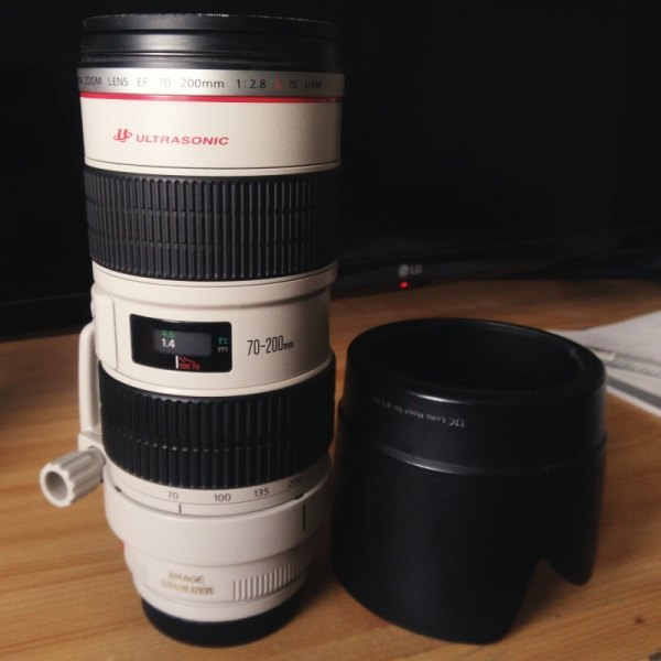 Canon EF  70-200mm  f 2,8  IS USM super stav