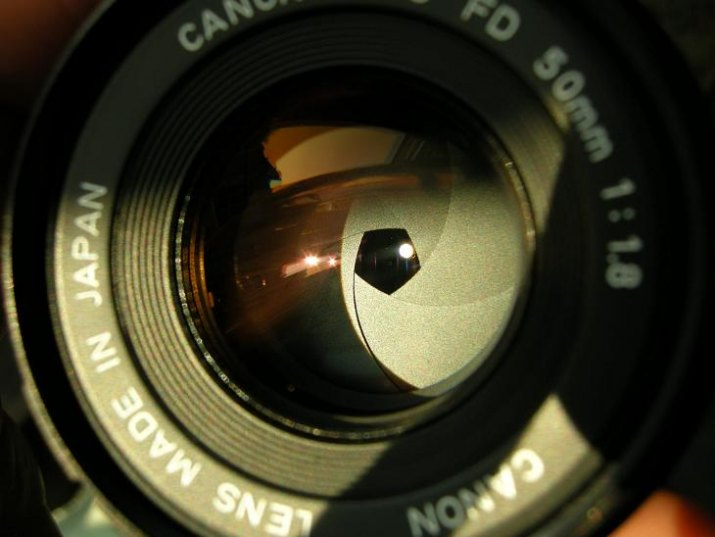 Canon Lens FDn 50mm f/1.8