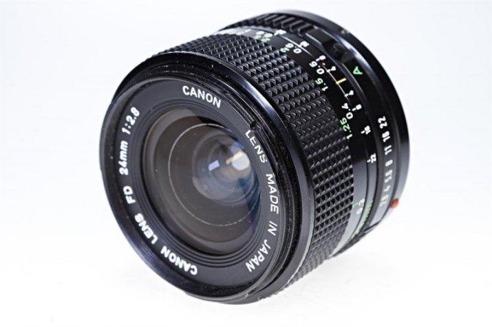 Canon Lens FDn 24mm f/2.8
