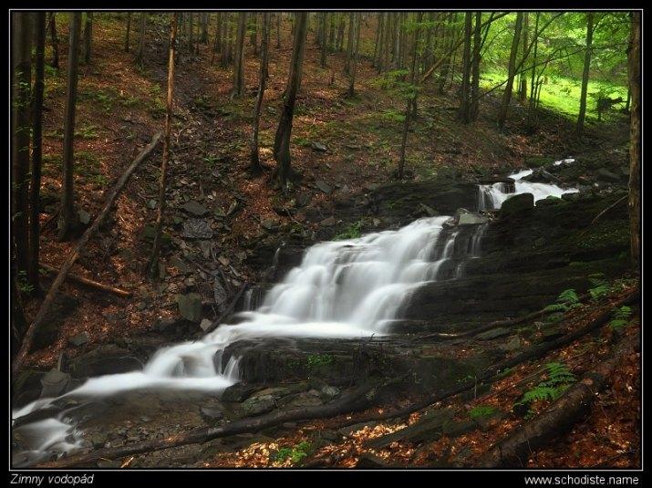 Zimny vodopád